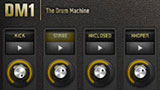 DM1 fingerlab, versatile drum machine per iOS